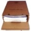 8 cm Archivschachtel A4 (mit Clip und Platte)